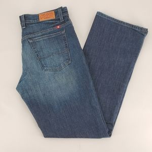 Lucky Brand Dk Wash Straight Leg Jeans Size 12